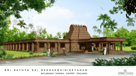 Sri Sathya Sai Meenakshiniketanam (Architect_s view) - Upcoming campus for 2020-21