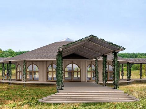 A) Meditation Hall