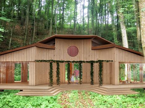 B) Spiritual Abode