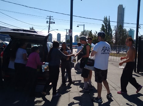 Food distribution in Vancouver-min