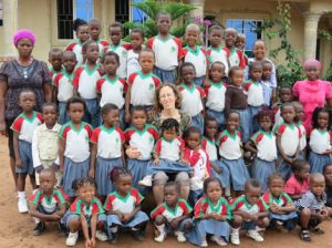 TELA PRIMARY STUDENTS WITH DR SHIRA-min